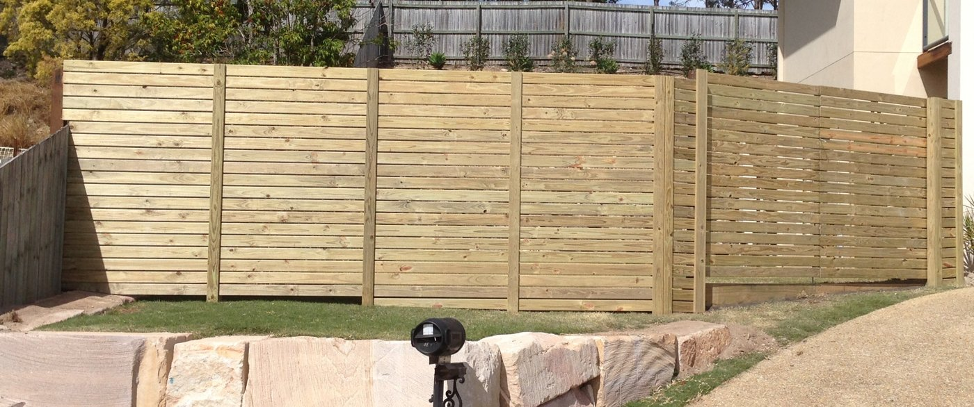 Treated-pine-privacy-screen